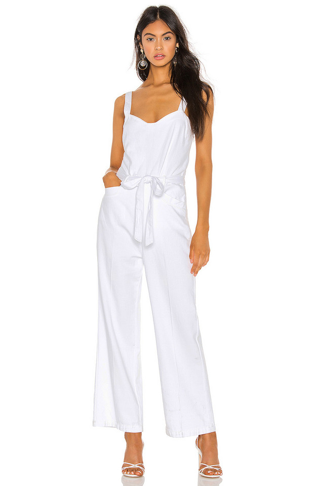 PAIGE Emma Jumpsuit in white