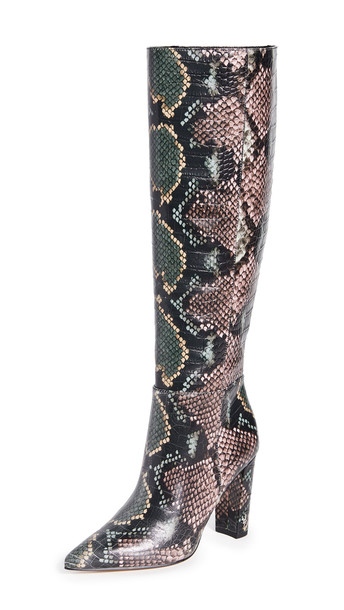Sam Edelman Raakel Boots in green / pink