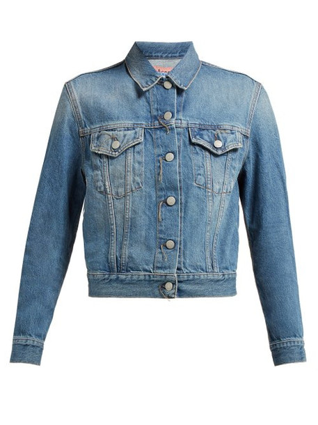 Acne Studios - Trash 1999 Denim Jacket - Womens - Denim