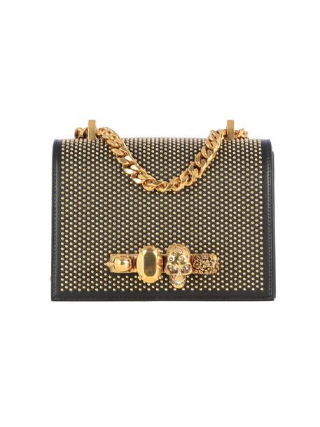 Alexander McQueen Small Jew. satchel Shoulder Bag in black