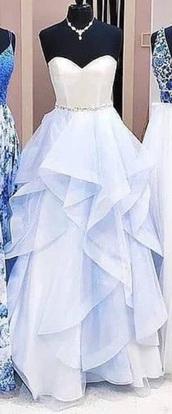 dress,blue,prom dress