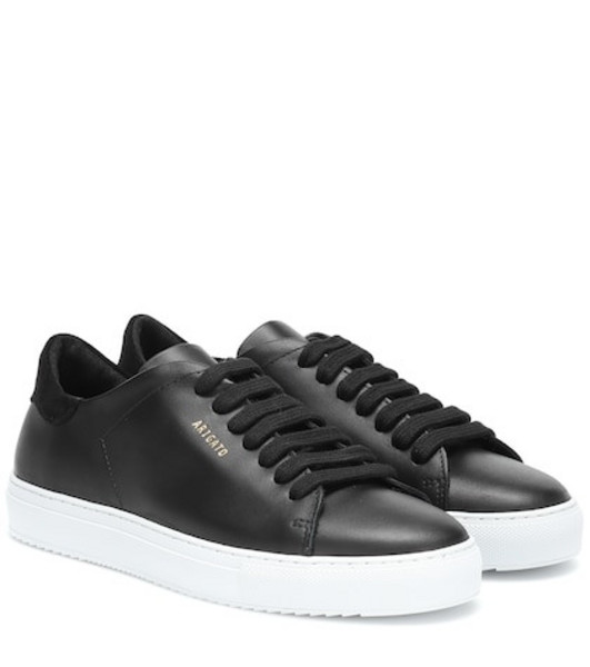 Axel Arigato Clean 90 leather sneakers in black