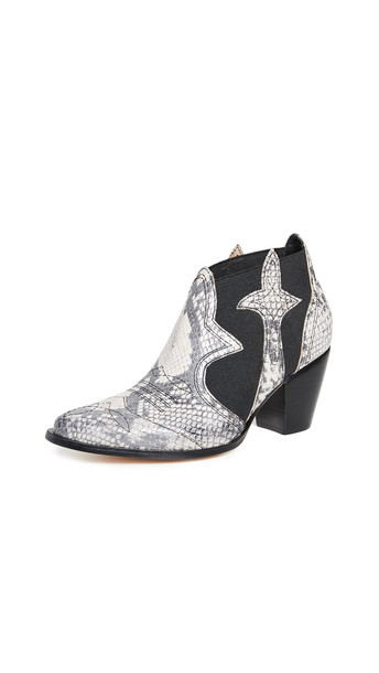 Rachel Comey Orland Boots in black / white