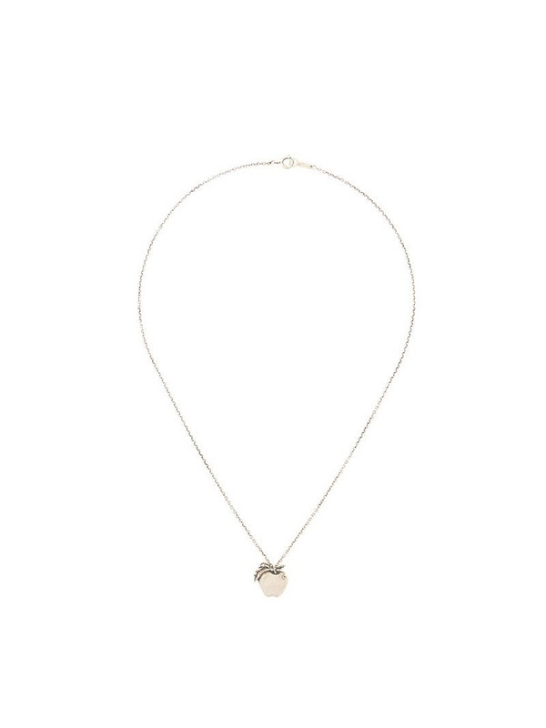 Undercover Apple necklace in silver