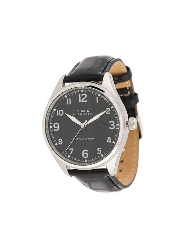TIMEX Waterbury Traditional Automatic 42mm watch in black