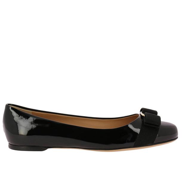 Salvatore Ferragamo Ballet Flats Shoes Women Salvatore Ferragamo in black