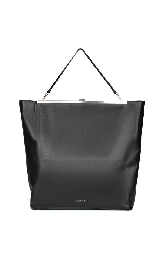Studio Amelia Leather Bag in black
