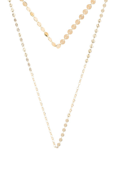 joolz by Martha Calvo Disco Necklace Set in gold / metallic