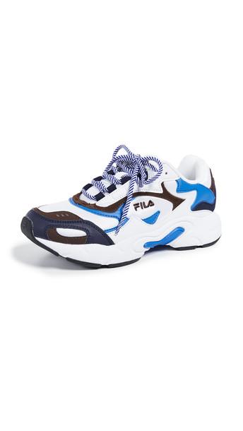 Fila Luminance Sneakers in navy / white