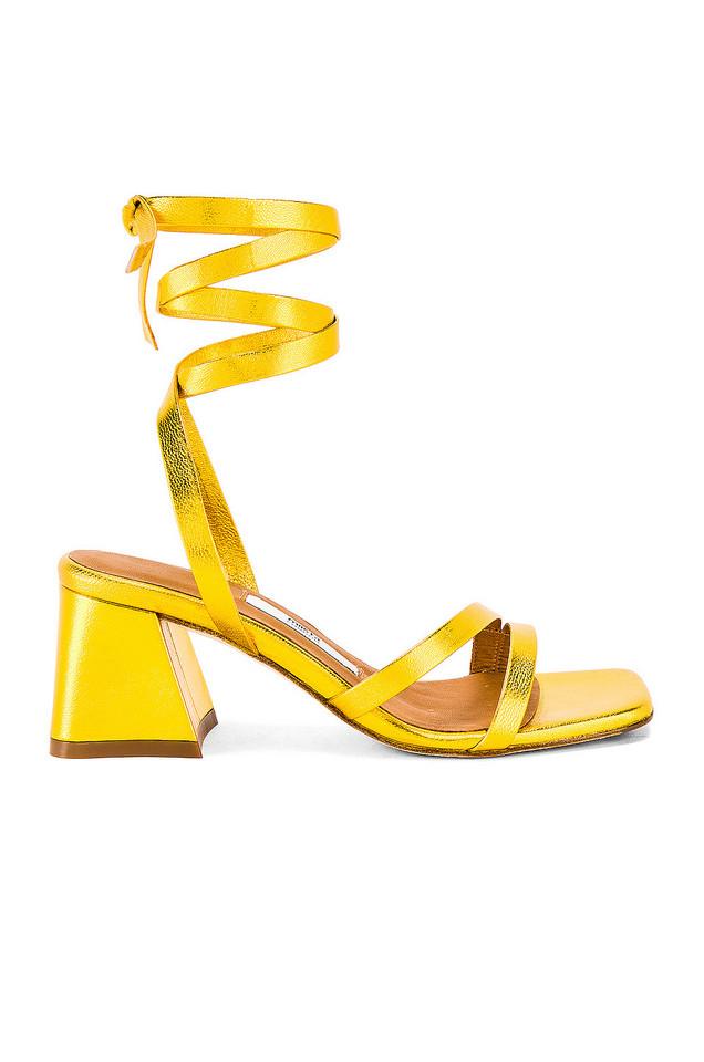 Miista Quima Sandal in gold / metallic
