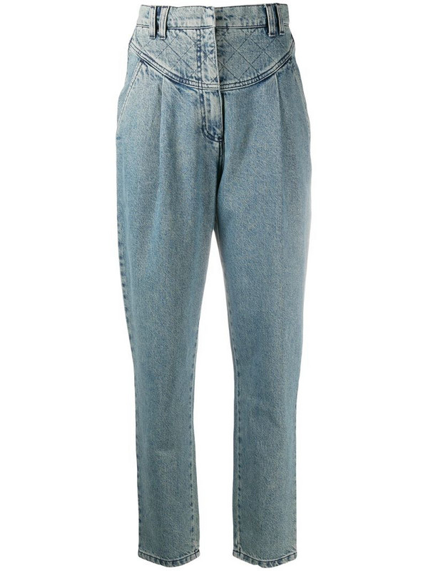 Philosophy Di Lorenzo Serafini high-waisted jeans in blue