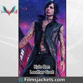 coat,devil may cry 5,video game,black leather coat,fashion,style,outfit,mens  fashion,lifestyle,men's outfit,menswear