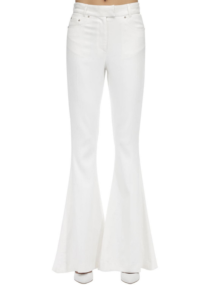 FILLES A PAPA Harvey Tailored Flared Pants in white