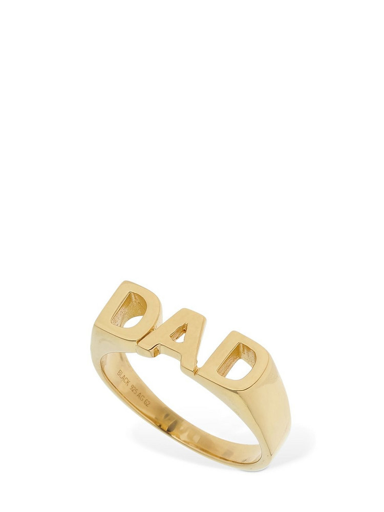 MARIA BLACK Dad Ring in gold