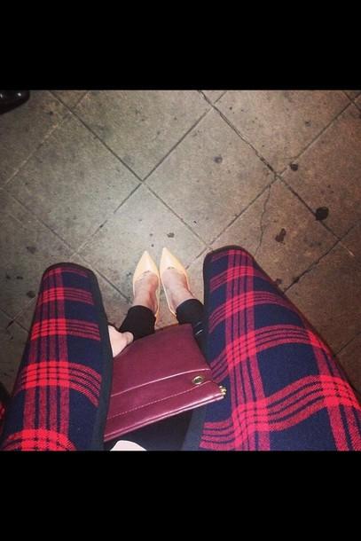 cardigan clutch leather pants high heels