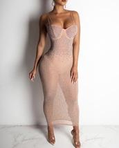 dress,nude,nude dress,sparkle,sports bra,sparkly dress,pretty,prom dress,cute,cute dress,sexy,sexy dress