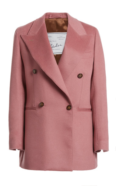 Giuliva Heritage Collection The Stella Cashmere Blazer in pink