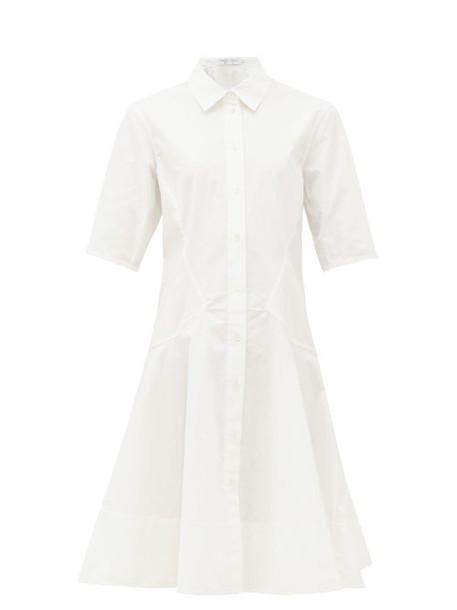 Proenza Schouler - Cotton Poplin Shirtdress - Womens - White