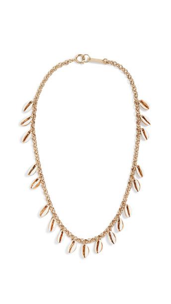 Isabel Marant New Amer Necklace in ecru