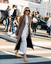 dress,white dress,maxi dress,lace dress,sandal heels,long coat,plaid