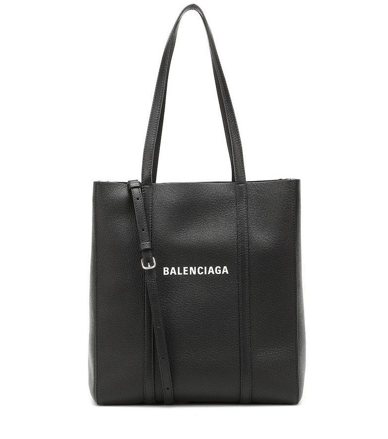 Balenciaga Everyday XS leather tote in black