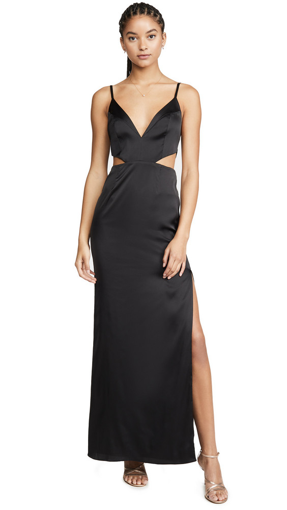 Fame and Partners The Andorra Dress in black