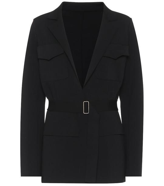 Alaïa Belted blazer in black