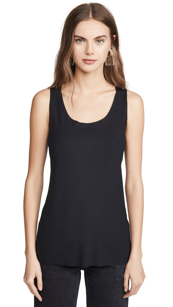 Wolford Aurora Sleeveless Pure Top in black