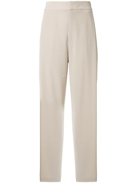 Co straight leg trousers in neutrals