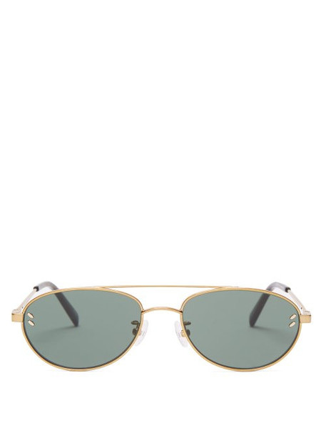 metal sunglasses gold