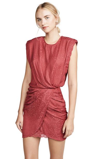IRO Dedora Dress in red