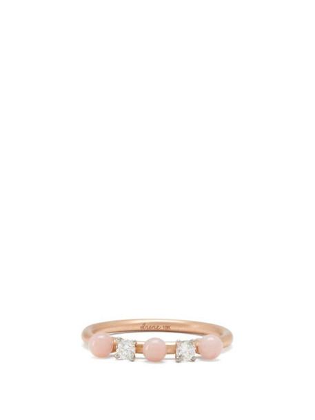 Irene Neuwirth - Opal, Diamond & 18kt Rose Gold Ring - Womens - Rose Gold