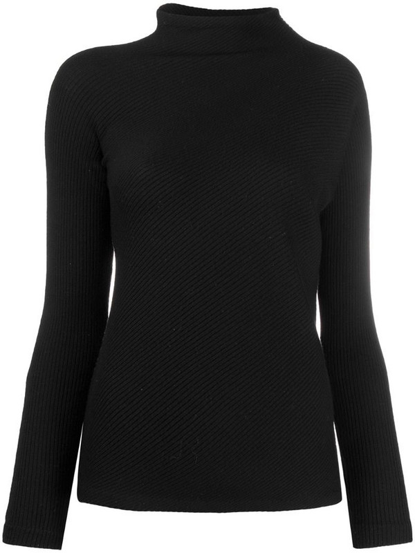 Maison Martin Margiela Pre-Owned 1990s twisted-knit jumper in black