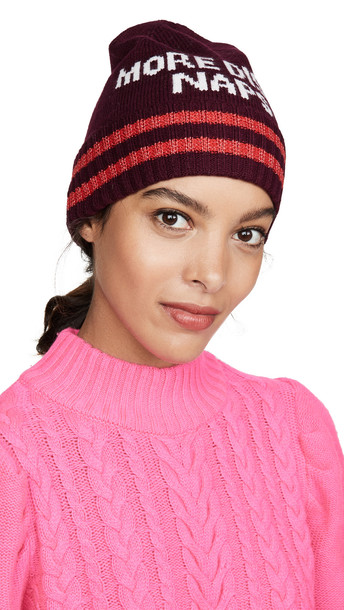 Kate Spade New York More Disco Naps Beanie hat in midnight