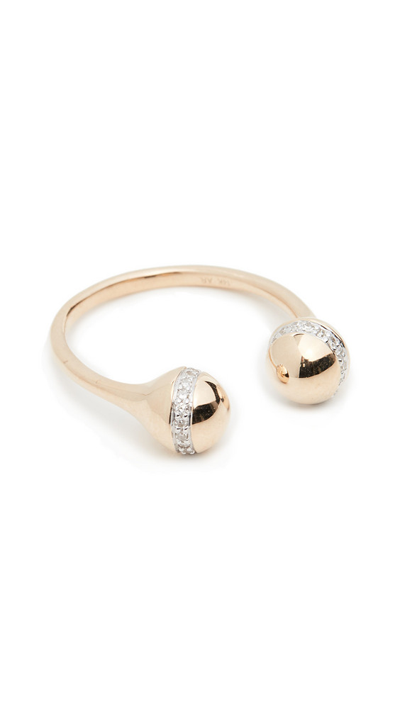 Adina Reyter 14k Double Orbit Ring in gold