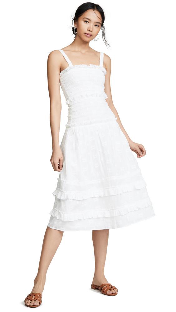 Steele Datsy Midi Dress in ivory