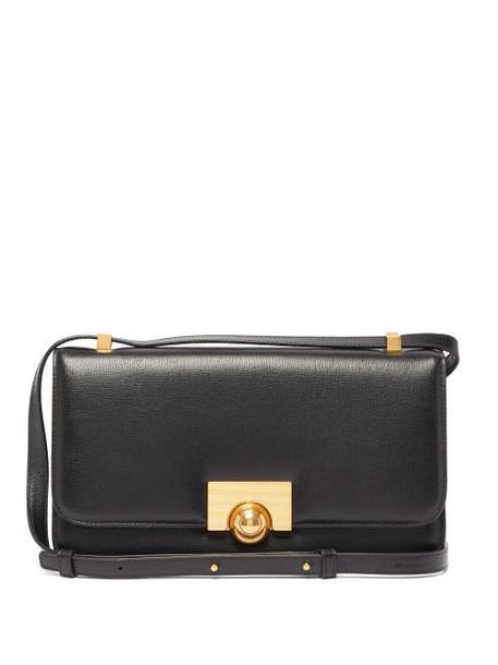 Bottega Veneta - Textured Leather Shoulder Bag - Womens - Black
