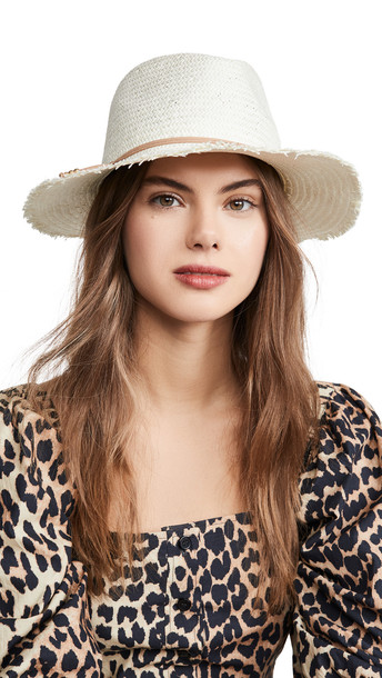 Hat Attack Fringe Travel Hat in tan