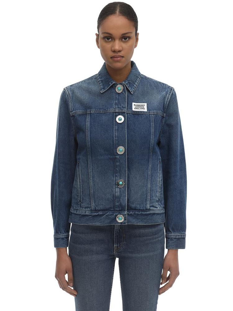 BURBERRY Cotton Denim Jacket