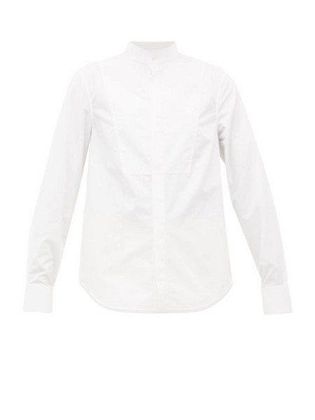 WARDROBE.NYC Wardrobe. nyc - Release 05 Band-collar Poplin Shirt - Womens - White