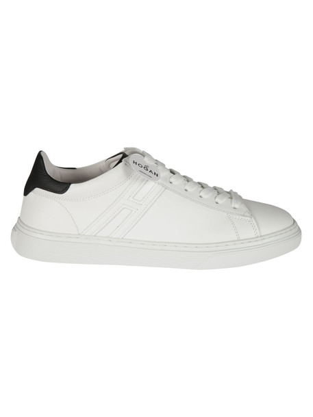 Hogan H365 Lace-up Sneakers in black / white