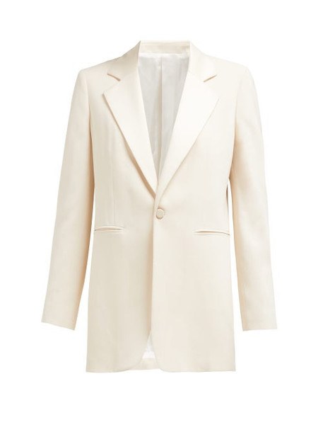 Joseph - Stearn Single Breasted Crepe Jacket - Womens - Ivory