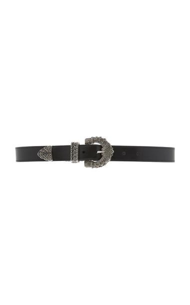 Etro Western Leather Belt Size: 85 cm