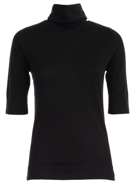 Snobby Sheep Sweater Turtle Neck Cashmere in black