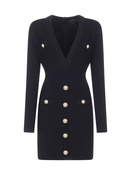 Balmain Dress in noir