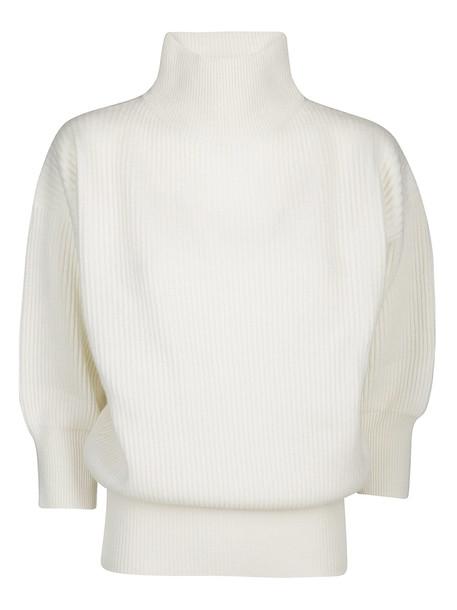 Agnona Cashmere Jumper in ivory / white
