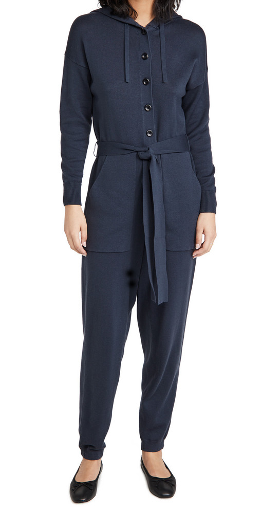 Alex Mill Knitted Jumpsuit in navy