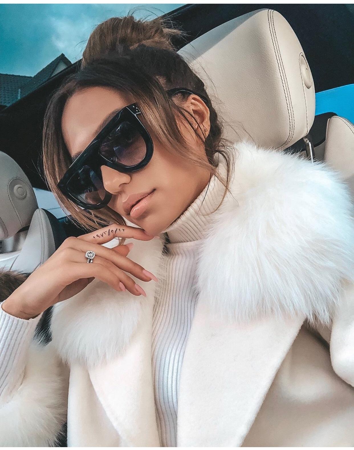 sunglasses oversized sunglasses black brown accessories