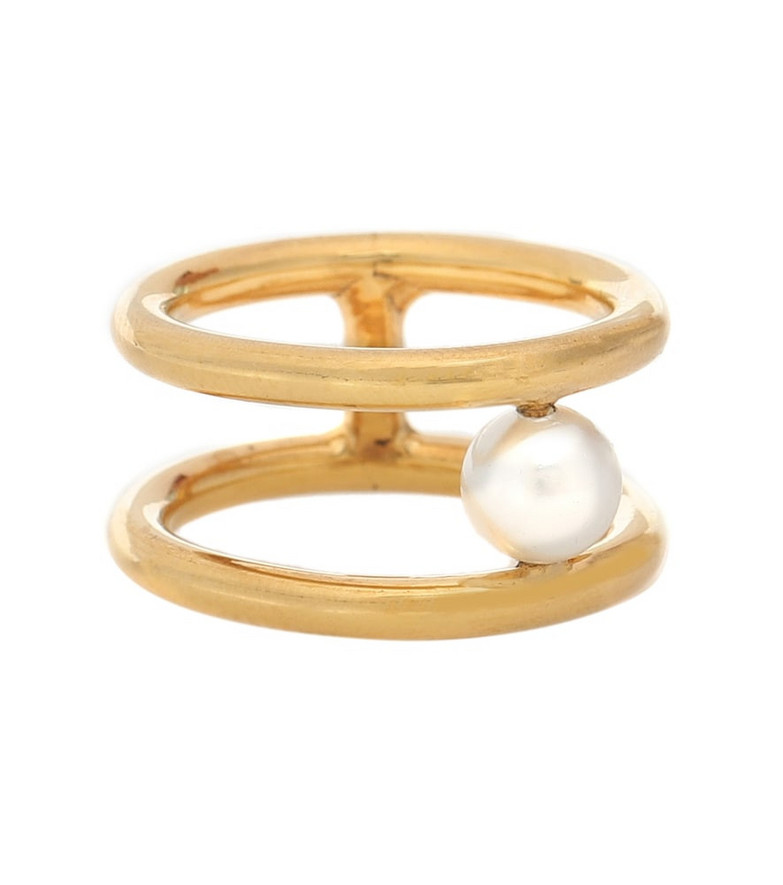 Alan Crocetti Exclusive to Mytheresa – Hub gold vermeil ring
