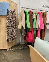 coat,dress,sweater,bag